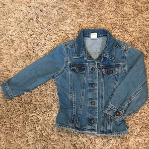 Toddler Levi's Jean Jacket - Size 4T